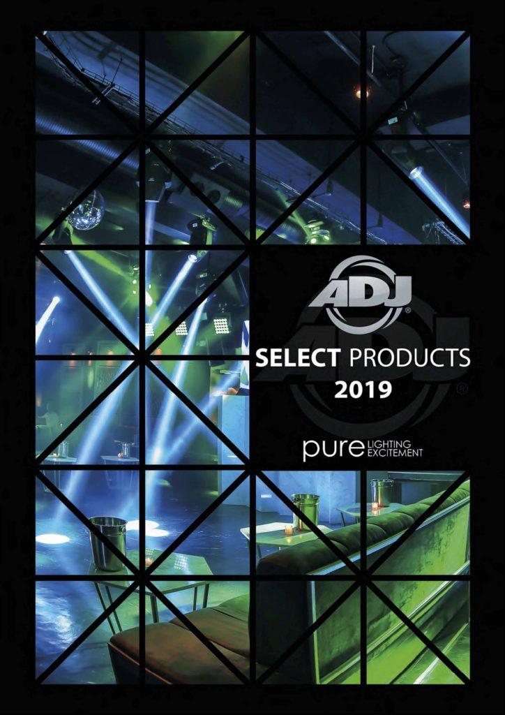 ADJ - catalogue de matériel dj