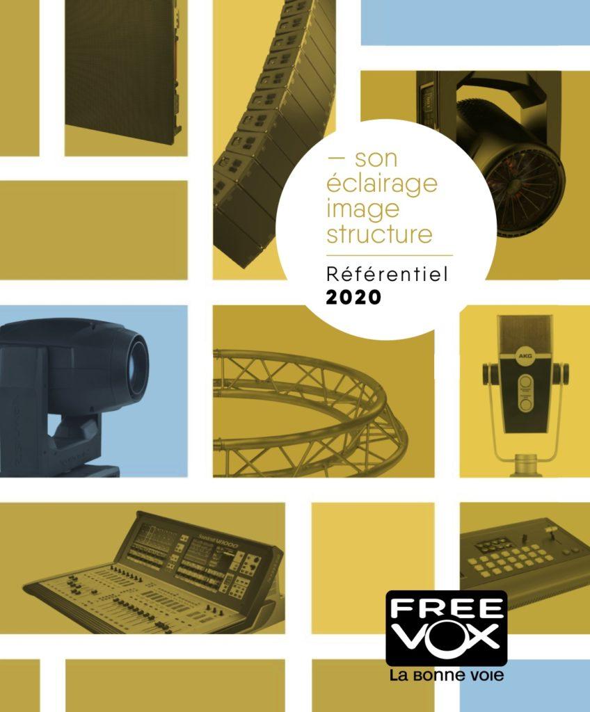 FREEVOX - catalogue de matériel dj